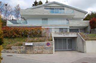 La façade sud