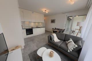 Appartement 2,5 pièces meublé 42 m2 avec parking et balcon Nyon (2)