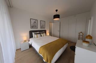 Appartement 2,5 pièces meublé 42 m2 avec parking et balcon Nyon (4)