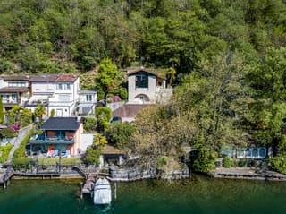 Gioiello architettonico di Mario Botta con terreno a lago (2)
