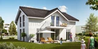 Neubau mit Weitsicht und Doppelgarage in ruhigem Quartier (3)