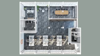 Bureaux de 240 m² situés au 1er étage (4)