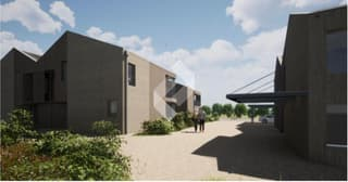 Villa contigüe de 3.5 pces avec jardin et terrasse. (3)