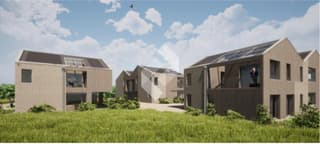 Villa contigüe de 3.5 pces avec jardin et terrasse. (4)