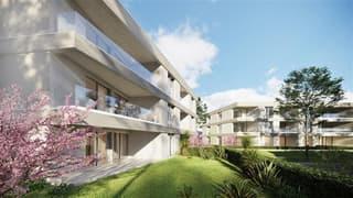 Cadempino-Residenza I Ciliegi, 2.5 locali con giardino (3)