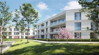 Cadempino-Residenza I Ciliegi, 2.5 locali con giardino (4)