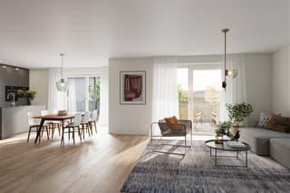 Grosszügige 2.5 Zimmer-Gartenwohnung an attraktiver Lage (2)