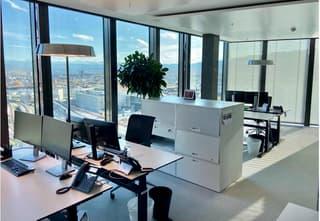 Büroflächen im Prime Tower - Ausgebautes Stockwerk (3)