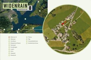 «WIDENRAIN-8 / DACHGESCHOSS Eigentumswohnung 3½ Zimmer-Dachwohnung» (2)