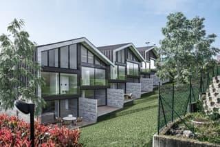 Nuove case a schiera con giardino e ampi locali (4)