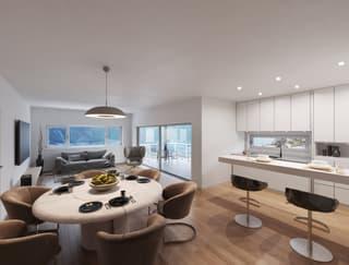Magnifiques appartements 3.5pcs et 4.5pces à Corin (3)