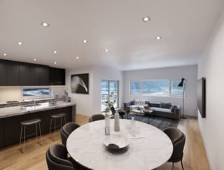 Magnifiques appartements 3.5pcs et 4.5pces à Corin (4)