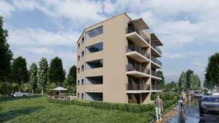 Neubau, moderne 1.5 Zimmer Wohnung in Embrach zu verkaufen (2)