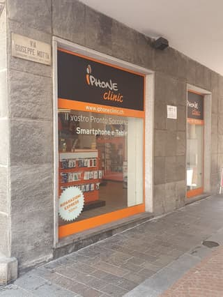 Store in the highly frequented Via Giuseppe Motta 1, 6900 Lugano (2)