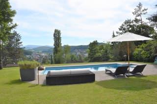 Sehr schönes Landhaus mit toller Aussicht, grossem Garten, Pool und viel Privatsphäre (3)