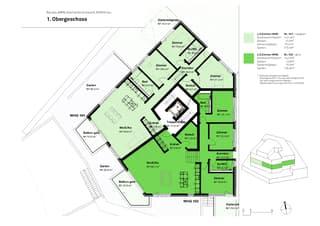 """Projektankündigung: """"waldgarten"""" mit sechs Eigentumswohnungen, ab CHF 860'000.- (4)"""