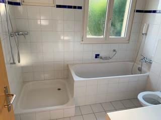 Neuwertige 3.5 Zimmer Wohnung im OG mit Balkon & Garten (2)