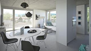 Urban und minimalistisch: Neubauwohnungen in Zürichs Trendquartier (3)