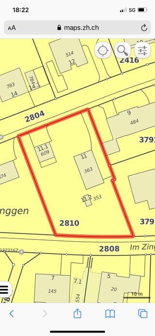 Bauland in Ossingen zu verkaufen (2)