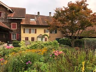 Reiheneinfamilienhaus mit freistehender Scheune und Gartenanlage (3)