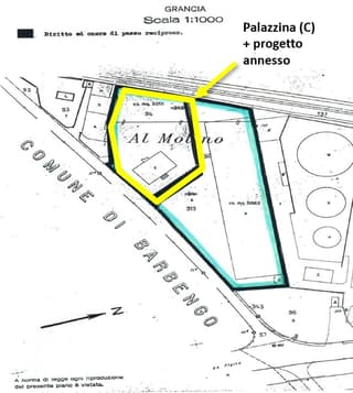 Palazzina (750 mq) con progetto di costruzione già approvato (2600mq) su largo mappale (3201mq) (2)