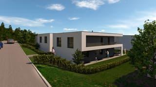 """«NEUBAU """"Exklusive Einfamilienhäuser"""" an bester Lage in Wikon» (2)"""