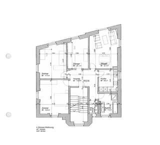 Helle 4 Zimmer Wohnung in zentraler Lage (3)