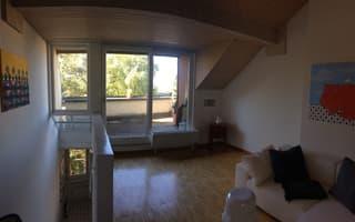 Attraktive 2 1/2 Zimmer Maisonette am Zürichberg (2)