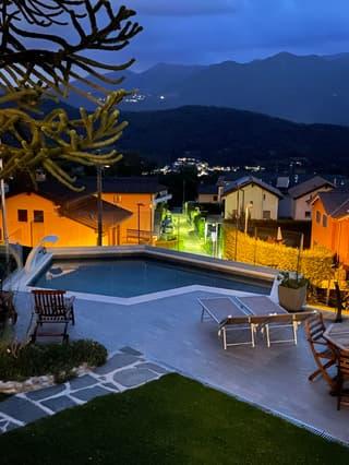 Vendesi Villa a Villa Luganese vista Lago con ascensore (2)