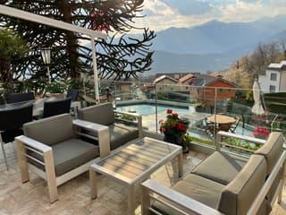 Vendesi Villa a Villa Luganese vista Lago con ascensore (4)