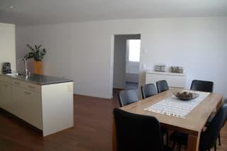 geräumige, moderne, sonnige 4.5- Zimmerwohnung mit Aussicht ins Grüne (4)