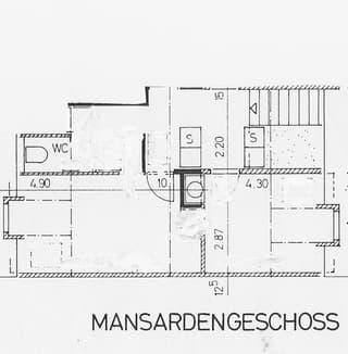 ruhige Dachwohnung mit Pfiff auf zwei Etagen Bern Zentrum Victoriaplatz Wochenaufenthalter (3)