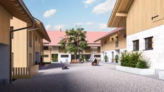 """Agentur Wyss AG: Neubau Wohnhäuser """"Cholimatte"""" Rumendingen 4.5/5.5 Zi. (2)"""