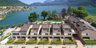 Appartamento a lago con giardino (2)