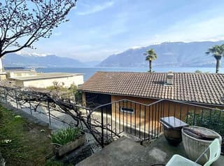 3 1/2-Zimmer-Garten-Wohnung mit 3 Balkonen und Seeblick / appartamento di 3 1/2 locali con 3 balconi con vista lago (4)