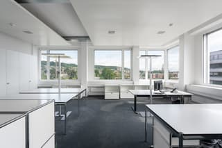 Ausgebaute Büros