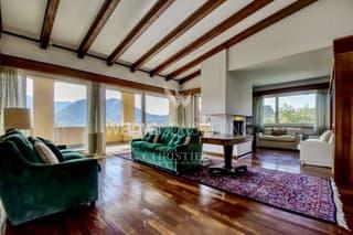 Villa am Stadtrand von Lugano mit Teilblick auf den Luganersee zu verkaufen (4)