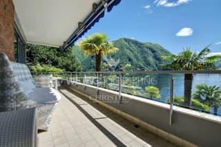 Renommierte 4.5-Zimmer Wohnung in Castagnola direkt am Luganer See zu verkaufen (2)