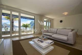 Renommierte 4.5-Zimmer Wohnung in Castagnola direkt am Luganer See zu verkaufen (3)