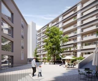 Charmante 1.5-Zimmer-Wohnung mitten in Neuhausen am Rheinfall! (2)
