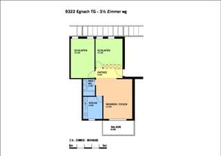 3 1/2 Zimmer Wohnung in Egnach (2)
