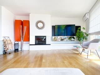 Moderna villa con tanto spazio e vista aperta! (3)