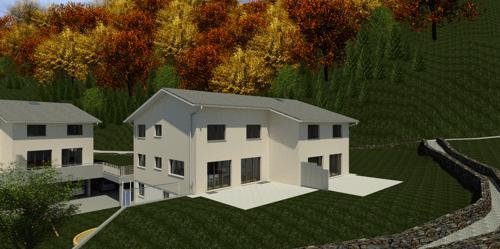 Überbauung Häusern, Doppeleinfamilienhaus 5a
