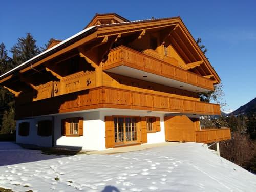 Tout proche du domaine skiable de la Région de Gstaad