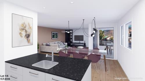 Magnifique 4.5 pièces avec jardin usage exclusif d'env. 180 m2