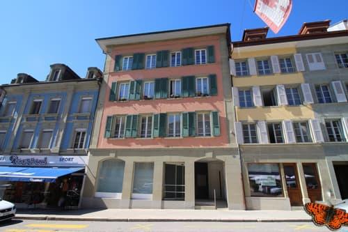 Immeuble côté Grand-Rue