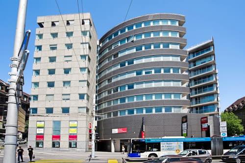 Bureaux dans un immeuble emblématique de Lausanne