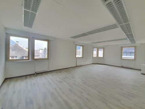 En plein coeur de Martigny, spacieux bureaux