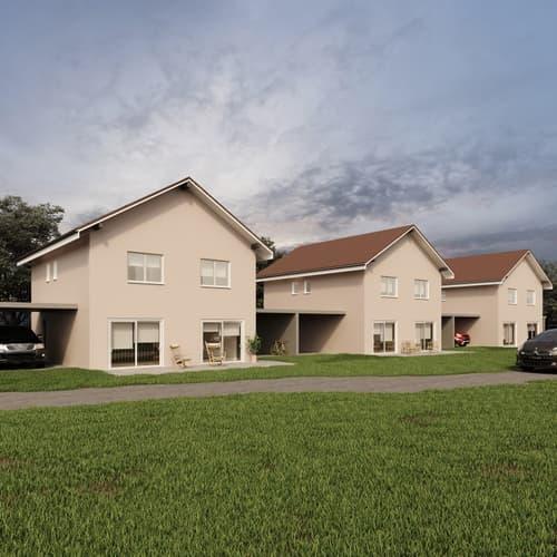 Permis de construire délivré - Nouvelle promotion de 3 villas individuelles à Rueyres-St-Laurent