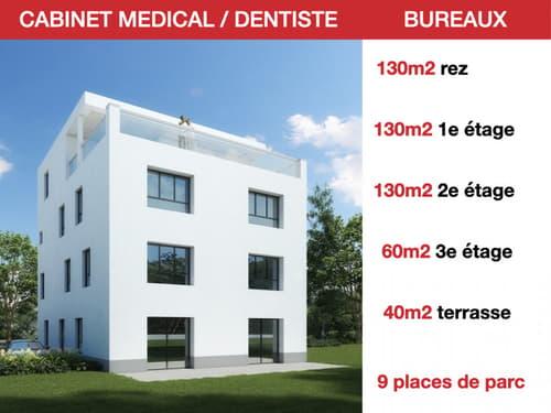 CABINET MEDICAL/DENTISTE - LOCAUX COMMERCIAUX - AUTOROUTE - RENDEMENT